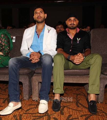 Harbhajan Singh's outing with rumoured girlfriend Geeta Basra