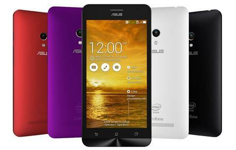 The Asus ZenFone is available with 4, 5 and 6 inch screens