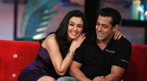Preity Zinta took to Twitter to talk about Salman Khan's 'Kick' and also a football kick.