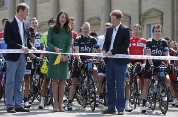Kate Middleton, Prince Willian kick off 101st Tour de France