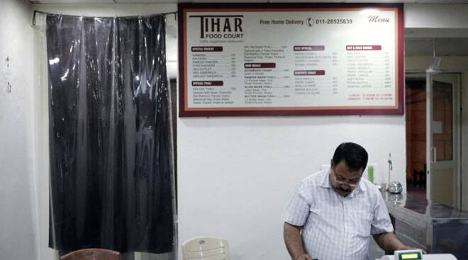 Welcome to Tihar Food Court - a restaurant run by jail inmates