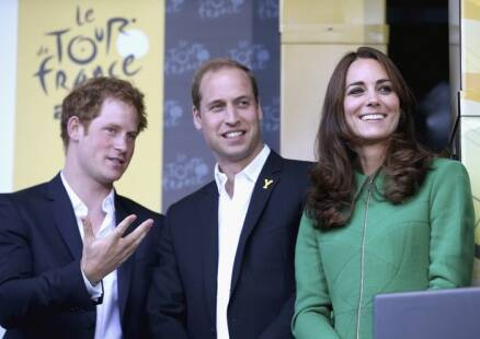 Kate Middleton, Prince Willian kick off 101st Tour de France