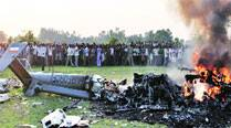 IAF officers among 7 dead as Dhruv chopper crashes in UP