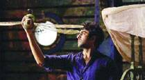 Ayushmann Khurana in a still from Hawaizaada