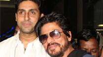 Shah Rukh Khan should play Dhyan Chand on screen: Abhishek Bachchan