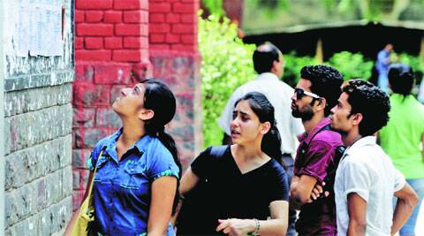 Fresh admissions to Delhi University for the 2014-15 academic session under the three-year course commenced from July 2. (Source: Express Photo)