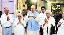 Advani visits DadaVaswani