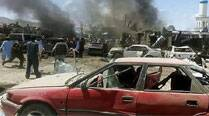Afghan market bombing kills 6