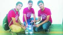 Unmanned vehicle, social issues become main mottos of IITGN researchinternship