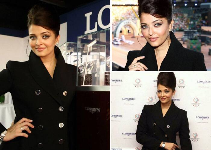 Aishwarya Rai Bachchan is divalicious at Glasgow!