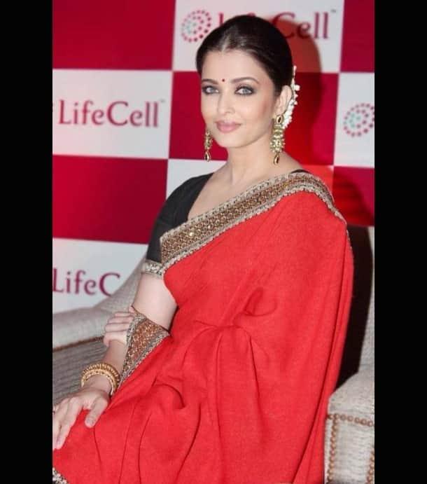 Stunner Aishwarya Rai Bachchan goes traditional