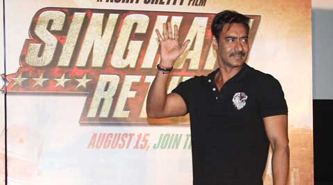 """I wish him (SRK) good luck for his films. I do hope all his films do well,"" Ajay said."