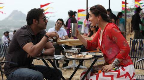 Ajay and Kareena gave up on their diets and gorged on local Mumbai treats including the famous sandwich ice-cream from Parsi dairy, Jimmy Boy's Patrana Machi, bun-maska, cutting chai, vada pav and missal pao among others.