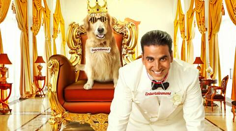 Akshay Kumar will be next seen in comedy film 'Entertainment'.
