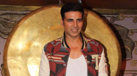 Akshay Kumar, who returns to the small screen with 'Dare 2 Dance', has written lyrics of the title track and even rapped it.