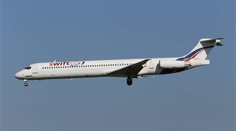 It was unclear exactly how many people were on board, as Swiftair put the number at 116 while the French presidency said 118 passengers and crew were on the jet.