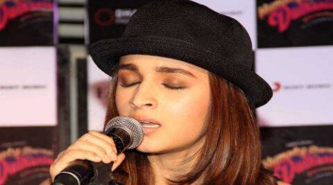 Alia Bhatt: If I get an opportunity, I would love to sing.