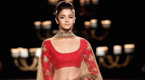 Alia Bhatt  was a front row guest at the designer's show two year's ago.