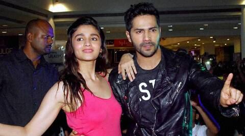 Alia Bhatt has been promoting 'humpty Sharma Ki Dulhaniya' with Varun Dhawan.
