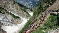 Amarnath Yatra resumes from Baltal camp a day afterclashes