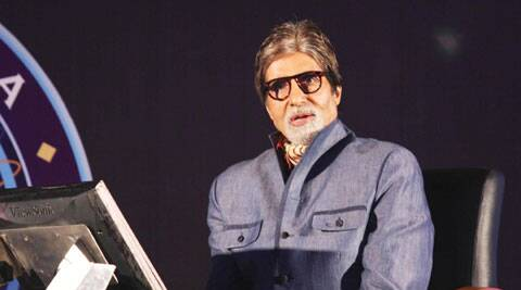 """Yes, I do,"" Amitabh Bachchan said when asked does he enjoy the role of a crusader-anchor on KBC."