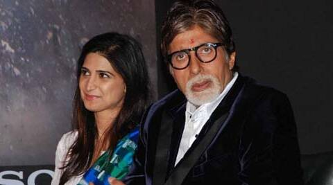 "She admits that meeting Big B for the first time was ""overwhelming"" ."