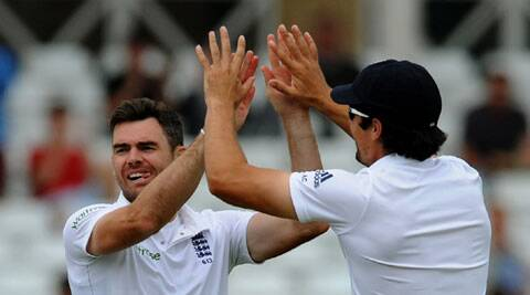 Captain Alastair Cook said that he won't ask Anderson to tone down his aggression. (Source: AP)