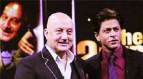 Anupam Kher and Shah Rukh Khan