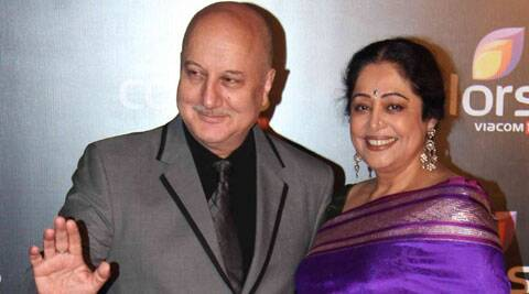 Anupam Kher says that she is so dedicated to people of the city that she doesn't get time to even meet him.
