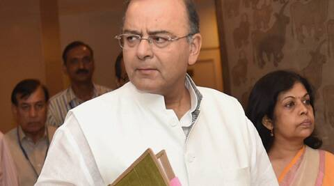 Finance Minister Arun Jaitley tables a report on the state of Indian economy on Wednesday, a day before Prime Minister Narendra Modi's new government presents its first budget. (PTI)