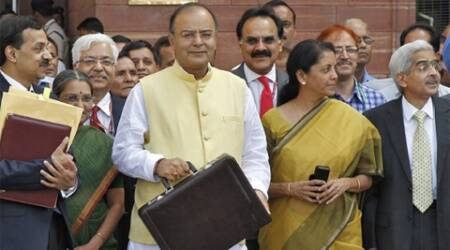 FM Arun Jaitley today proposed raising the FDI cap from 26 per cent to 49 per cent in insurance sector. (Reuters)