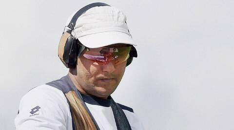 Asab won the bronze in the men's double trap to give India their ninth medal from shooting. (Source: PTI)