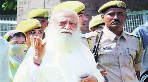 Asaram was chargesheeted by a special investigation team before a Gandhinagar district court. (Source: PTI)
