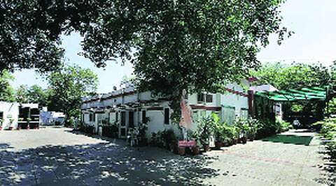 The BJP headquarters at 11, Ashoka Road, in the capital. ( Express archive )