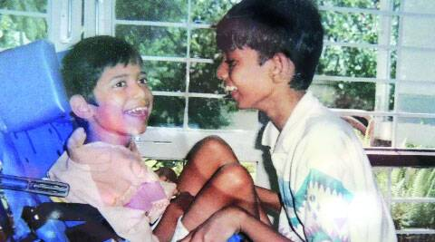 Avik with younger brother Anubhav in his childhood