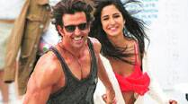 Hrithik and Katrina Kaif enjoy  a fun moment
