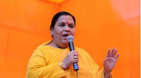 Water Recources, River Development and Ganga Rejuvenation Minister Uma Bharti