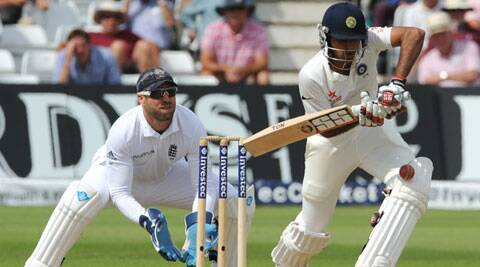 Bhuvneshwar Kumar became only the second No. 9 to score a fifty in each innings after Peter Siddle. (Source: AP)
