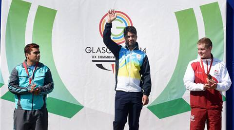 The ace shooter announced that this would be his last Commonwealth Games. (Source: PTI)