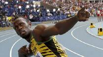 Usain Bolt all set for a run at Glasgow
