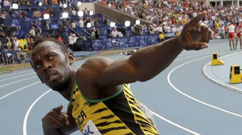 Usain Bolt is training hard to get back in shape for the Commonwealth games at Glasgow. (Source: AP)