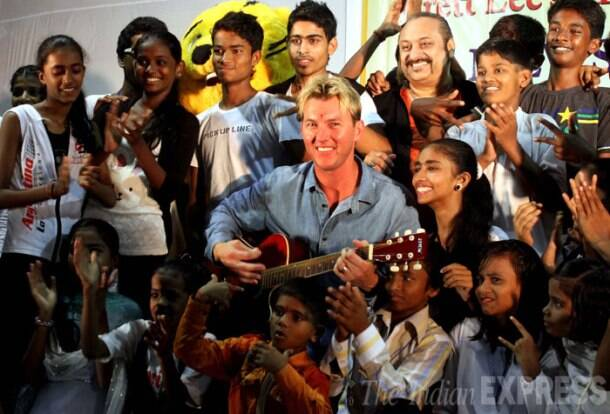 Brett Lee, Leslie Lewis perform for kids at 'The Mew-sic Mela'