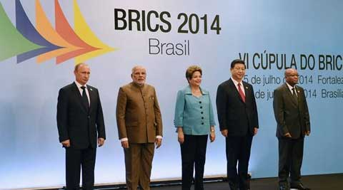 Modi attended the sixth summit and deliberated on global economic, political and strategic issues. (Source: PTI)