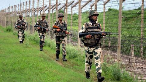 Pakistan Rangers opened small arms and medium machine gun fire at three BSF posts in Pargwal sector.
