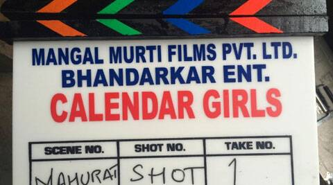 """The film is being shot at a tight schedule of 40 days. """"Start shooting #CalendarGirls from today! High on concept, this youthful film has 5 new faces to be shot in a 40 day start-to-finish schedule,"""" Bhandarkar tweeted."""
