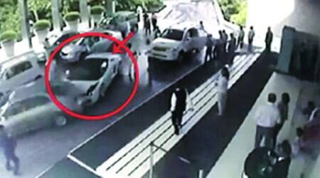 On that afternoon, the car was driven by a cousin of Miglani, an official of the company said.