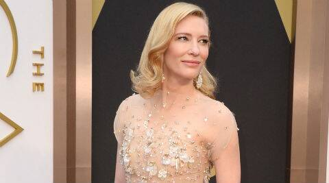 Cate Blanchett reprised her role in 'The Hobbit'. (Source: AP)