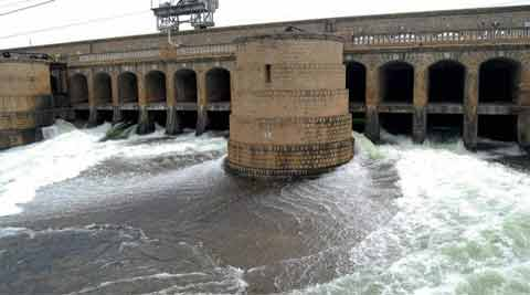 The Tribunal, in a unanimous award in February 2007, had determined the total availability of water in the Cauvery basin at 740 thousand million cubic (TMC) feet at the Lower Coleroon Anicut site. (Source: PTI)