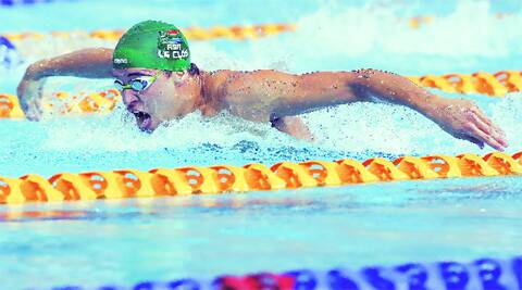 Chad le Clos won 200m butterfly gold at the Commonwealth Games in Glasgow. Source: Reuters