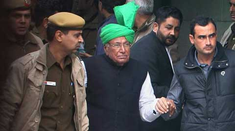 Chautala, his son and eight others, including Vidya Dhar and Badshami, had been awarded 10 years jail term for illegally recruiting 3,206 junior teachers in the year 2000. (Source: PTI)